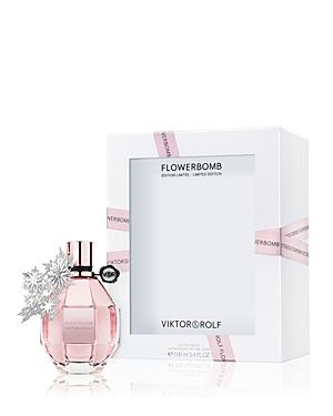 Viktor & Rolf Flowerbomb Eau De Parfum, Holiday Limited Edition 3.4 Oz.