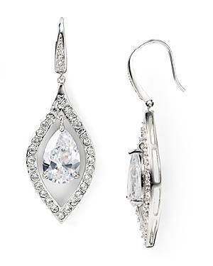 Carolee Pave Drop Earrings