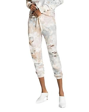 N:philanthropy Road Ripped Tie Dyed Jogger Pants