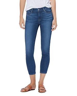 Paige Verdugo Cropped Skinny Jeans In Farrah