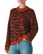 Whistles Tiger Stripe Sweater