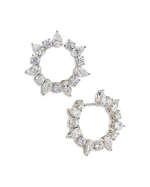 Nadri Deluxe Hoop Earrings