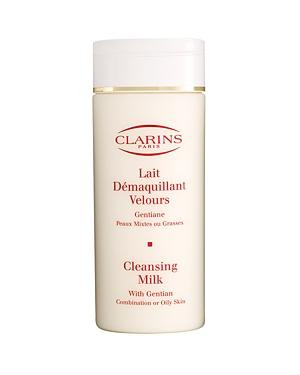Clarins Cleansing Milk With Gentian For Combination Or Oily Skin