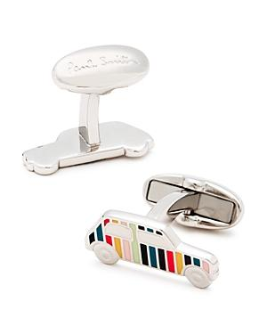 Paul Smith Enamel Stripe Car Cufflinks