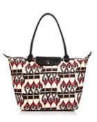 Longchamp Le Pliage Ikat Large Tote