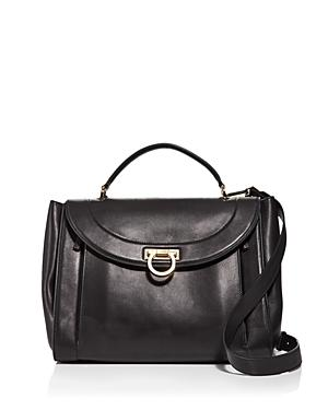 Salvatore Ferragamo Sofia Rainbow Leather Saddle Bag (50% Off) Comparable Value $2,400