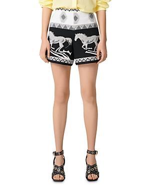 Maje Ipi Mini Shorts