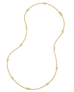 Marco Bicego 18k Yellow Gold Legami Long Station Necklace, 36