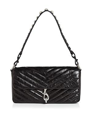 Rebecca Minkoff Edie Small Quilted Leather Clutch