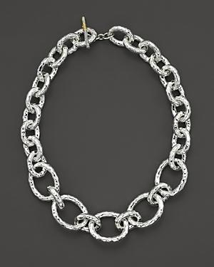 Ippolita Sterling Silver Bastille Chain Necklace
