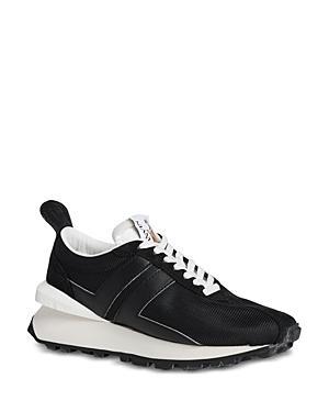 Lanvin Women's Leather & Mesh Running Sneakers