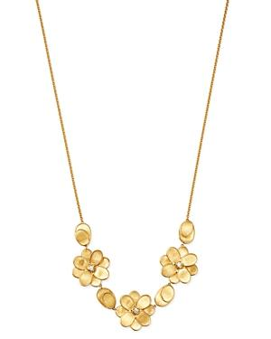 Marco Bicego 18k Yellow Gold Petali Half Collar Necklace, 16.5