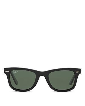 Ray-ban Unisex Polarized Classic Wayfarer Sunglasses, 54mm