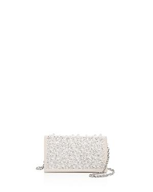Max Mara Embellished Leather Clutch