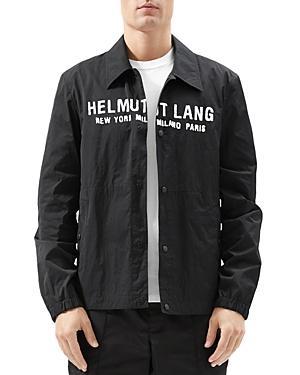 Helmut Lang Logo Stadium Jacket