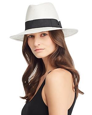 August Hat Company Ribbon Trim Panama Hat - 100% Exclusive
