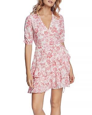 1.state Ruffled Wrap Dress