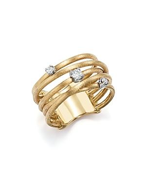 Marco Bicego 18k Yellow Gold Luce Diamond Ring - 100% Exclusive