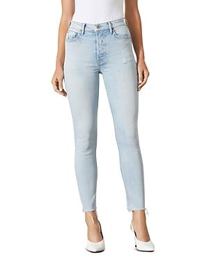 Grlfrnd Karolina Frayed Skinny Jeans In Superficial Love