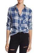 Rails Hunter Ocean Blush Cloud Plaid Shirt