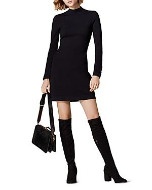 Karen Millen Lace-up Cuff Sweater Dress