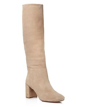 Tory Burch Women's Brooke Slouchy Suede Tall Boots