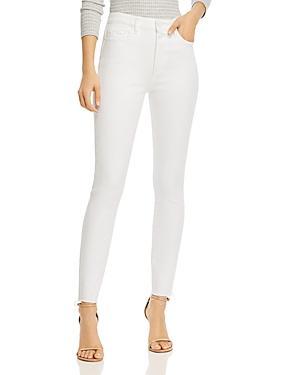Paige Hoxton Frayed-hem Skinny Jeans