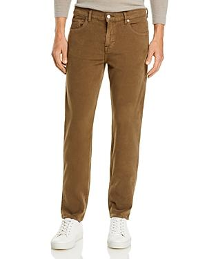 7 For All Mankind Slimmy Moleskin Slim Straight Fit Jeans