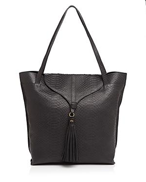 Foley And Corinna Arrow Python-embossed Tote