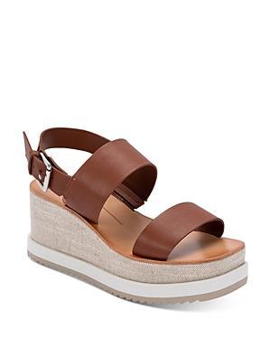 Dolce Vita Women's Idrah Strappy Slingback Platform Sandals
