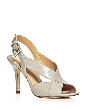 Michael Michael Kors Becky Crisscross High Heel Sandals