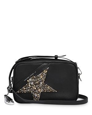 Golden Goose Deluxe Brand Studded Hammered Leather Star Bag