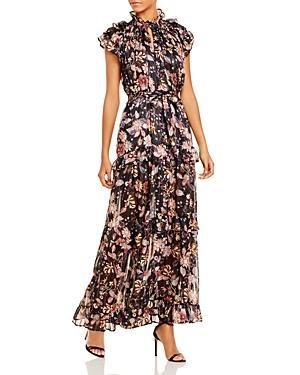 Sabina Musayev Gia Ruffled Maxi Dress