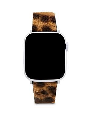 Rebecca Minkoff Leopard Spot Calf Hair Apple Watch Strap, 38mm & 40mm