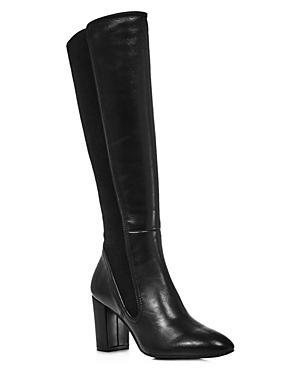 Stuart Weitzman Women's Livia Block Heel Tall Boots