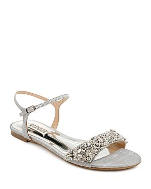Badgley Mischka Women's Carmella Crystal Embellished Sandals