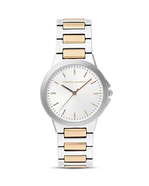 Rebecca Minkoff Two-tone Cali Watch, 34mm