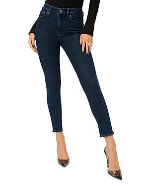 Good American Good Legs Crop Skinny Jeans In Blue796