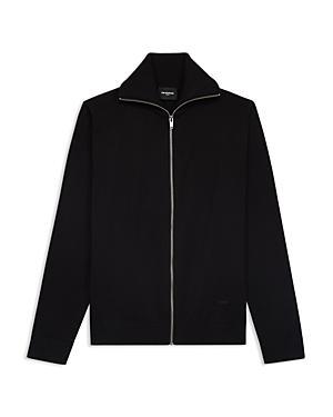 The Kooples Zip Knit Jacket