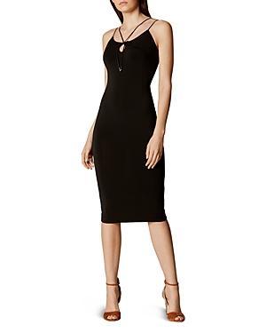 Karen Millen Strap-detail Dress