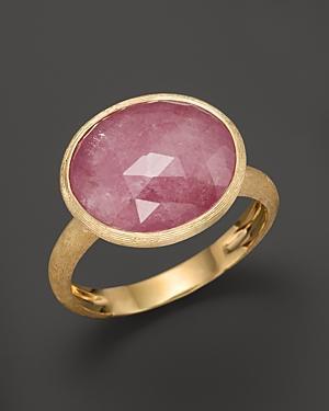 Marco Bicego Siviglia 18k Gold Pink Sapphire Ring