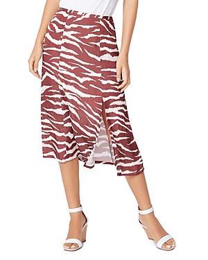 Paige Larsa Animal Print Skirt