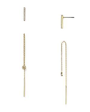 Baublebar Noir Threader Earrings & Stud Earrings Set