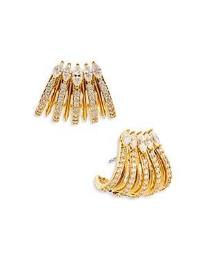 Nadri Nix Hoop Earrings