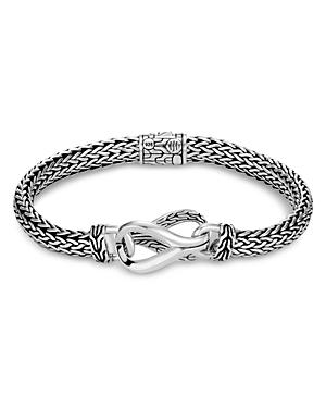 John Hardy Sterling Silver Classic Chain Small Link Station Bracelet