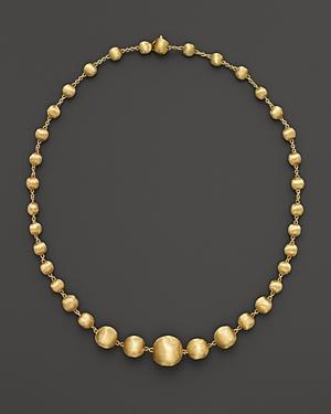 Marco Bicego Africa Collection 18k Yellow Gold Bead Necklace, 17