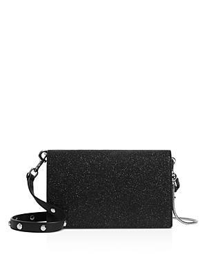 Allsaints Sid Glitter Leather Chain Wallet