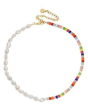 Baublebar Ellie Multicolor Collar Necklace, 14
