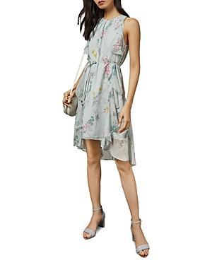 Ted Baker Pariz Sorbet-print Floral Dress