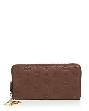 Mcm Klara Medium Leather Continental Wallet